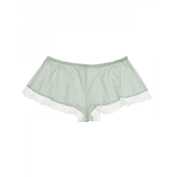 Eberjey Paloma shorty pastelblauw wit SALE